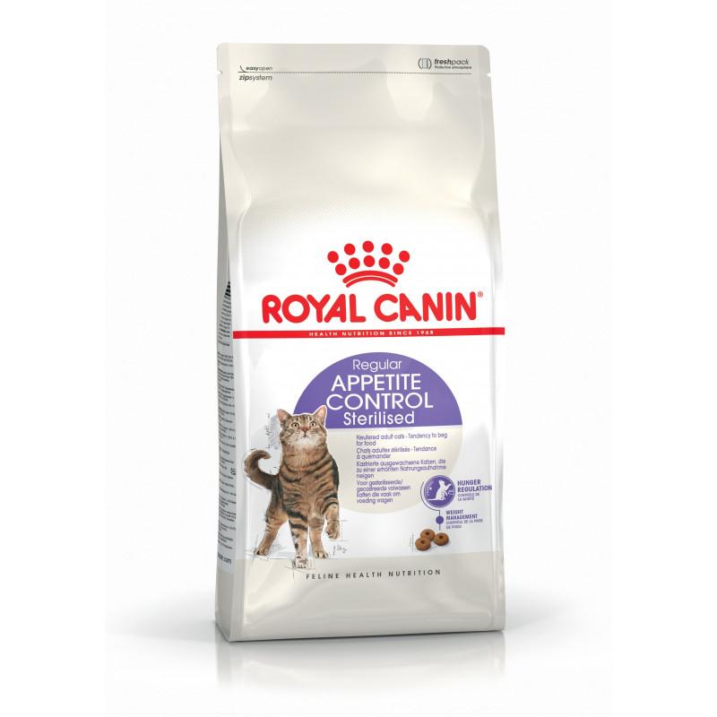 Royal Canin Sterilised Appetite Control для стерилизованных кошек.