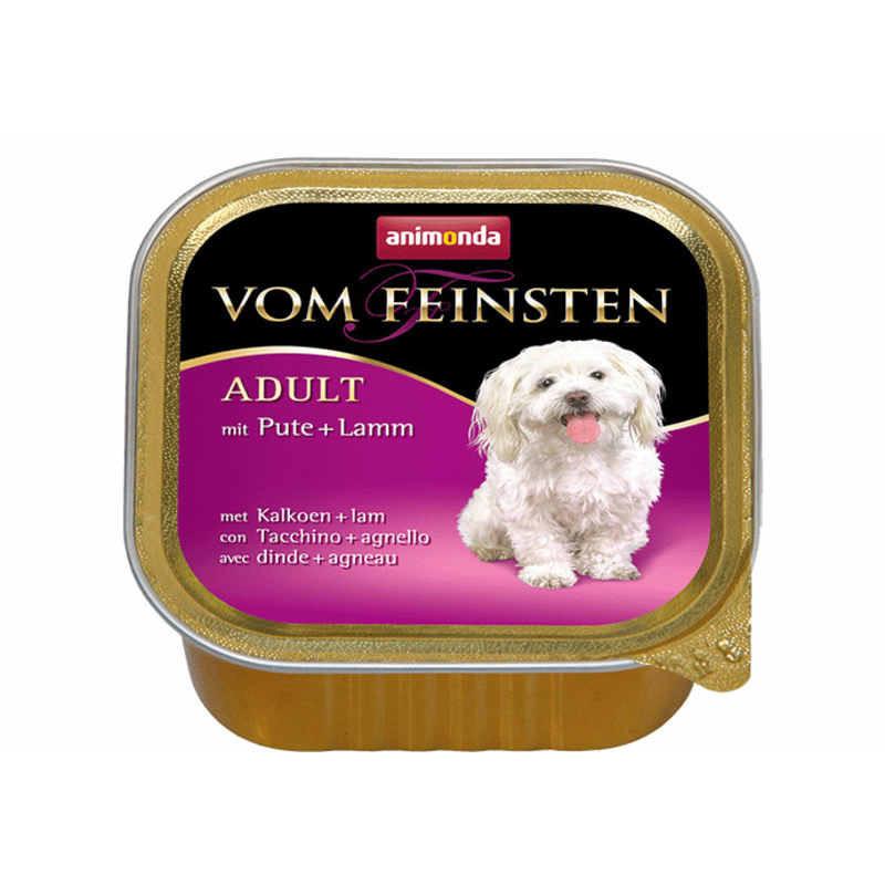 Animonda (Анимонда) Vom Feinsten Adult - Консервированный корм в виде паштета с индейкой и ягненком для взрослых собак