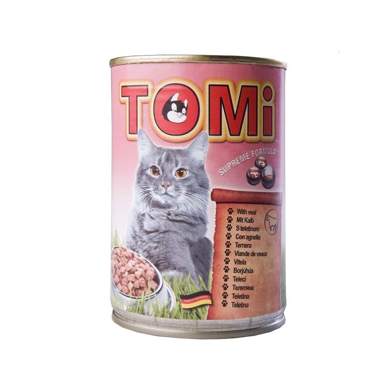 TOMi (Томи) veal - Консервы с телятиной для котов