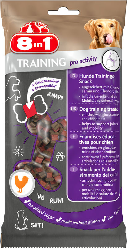 8in1 Training Treats Pro Activity - Лакомство для собак - Трейнинг