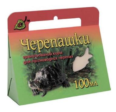 Гранулированный корм Черепашки для пресноводных черепах