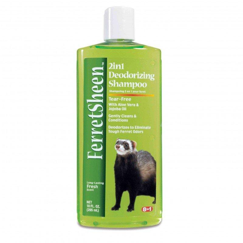 8in1 Ferretsheen 2in1 Deodorizing Shampoo - Шампунь для хорьков 2в1 дезодорирующий