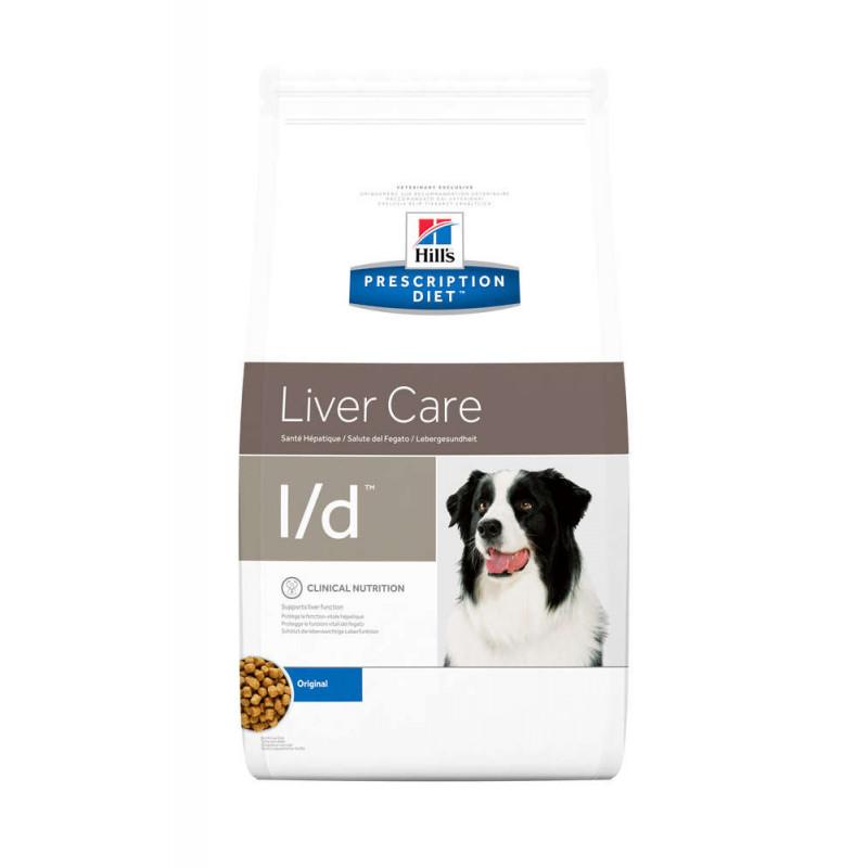 Hill's (Хиллс) Prescription Diet l/d Liver Car - Корм-диета для собак с курицей ЗДОРЬВЬЕ ПЕЧЕНИ