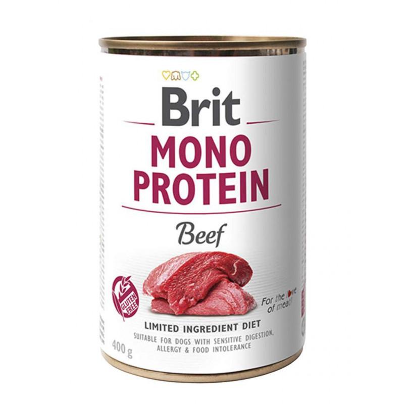 Brit (Брит) Mono Protein Beef Консервы для собак с говядиной