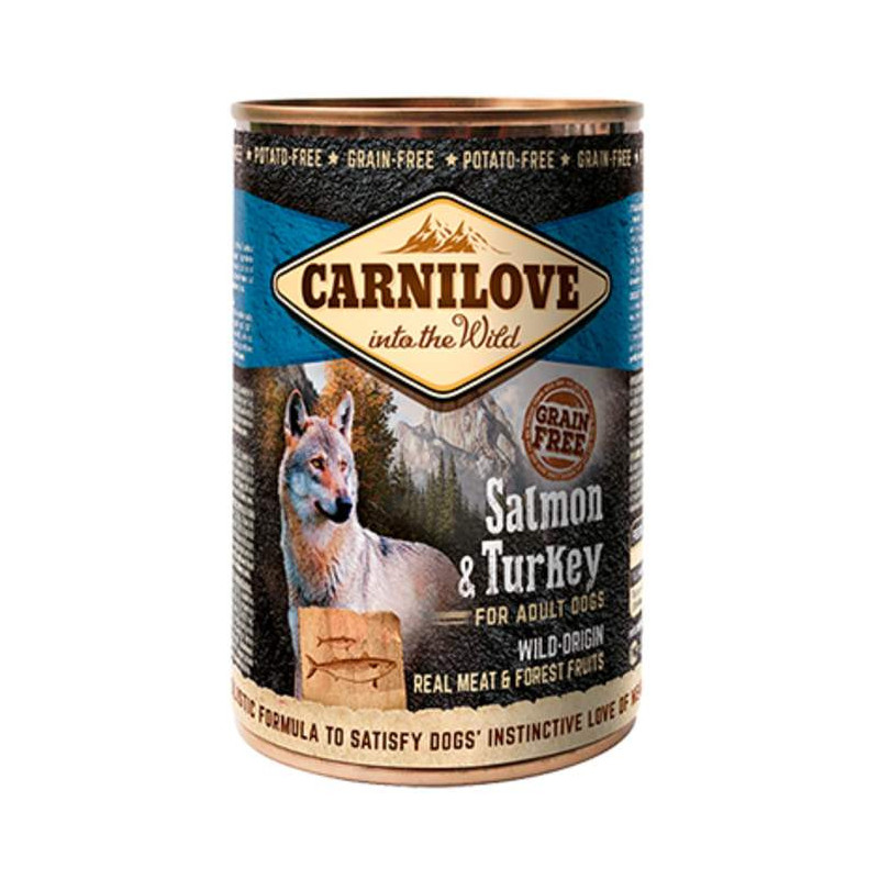Carnilove (Карнилав) Salmon & Turkey for Adult Dogs - Консервы для собак с лососем и индейкой для взрослых собак