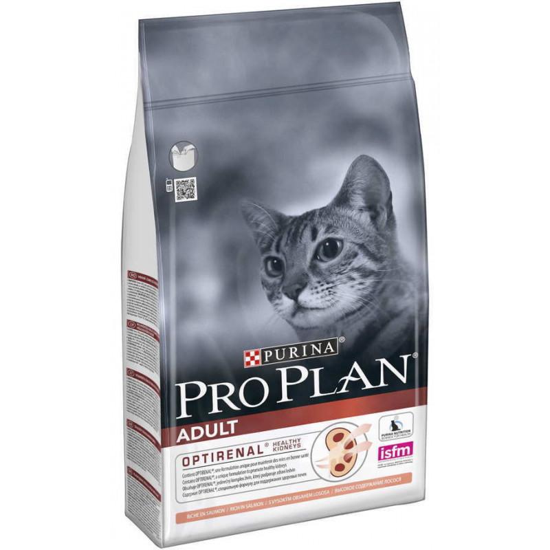 Purina Pro Plan (Пурина Про План) Adult Salmon - Сухой корм с лососем для взрослых кошек