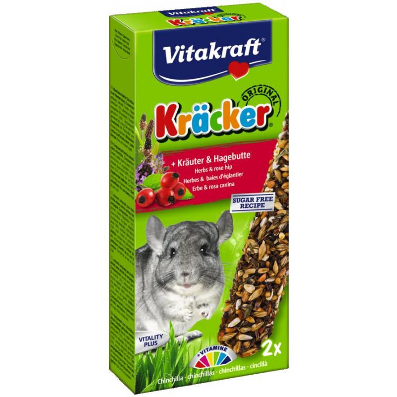 Крекер VITACRAFT для шиншил с травами