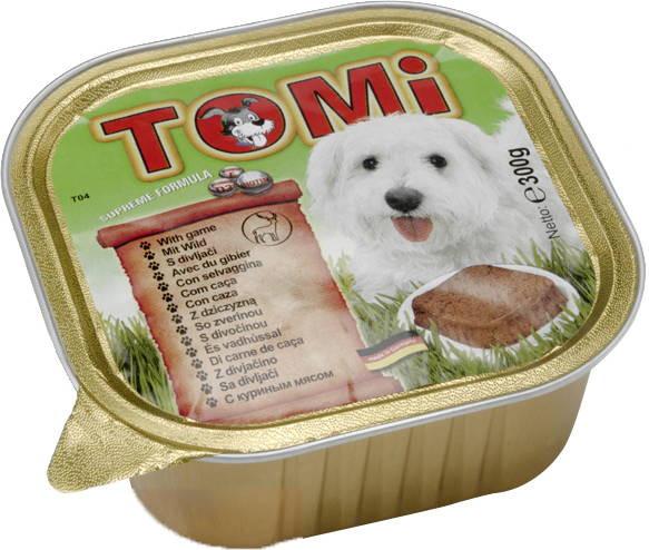 TOMi Game консерва с мясом Дичи для собак