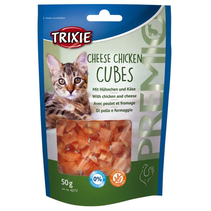 Trixie (Трикси) PREMIO Cheese Chicken Cubes. Лакомcтво с сыром и курицей для кошек