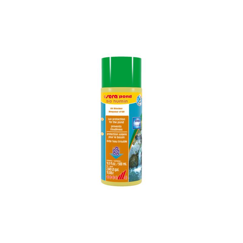 Средство SERA POND BIO HUMIN против цветения воды с UV-фильтром