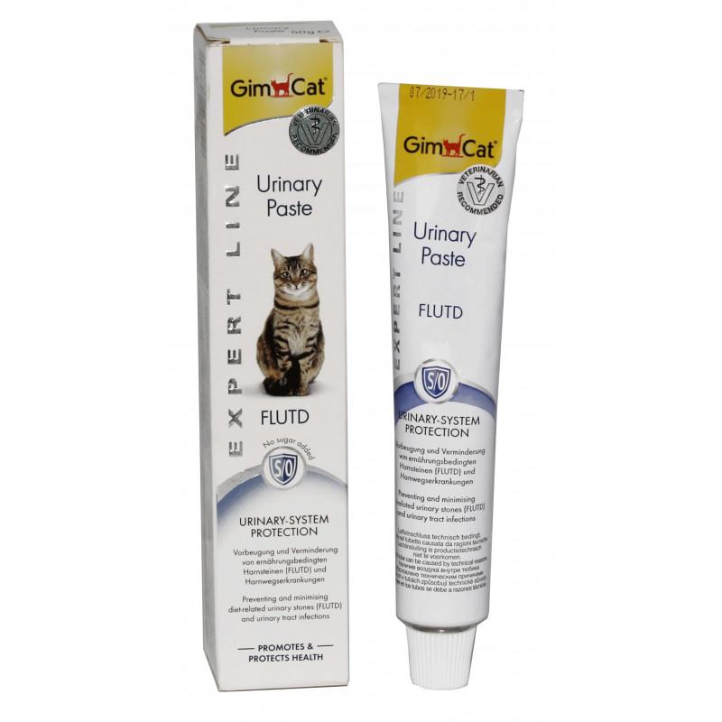 GimCat (Джим Кэт) Urinary Paste - Паста для профилактики мочекаменных болезней у котов