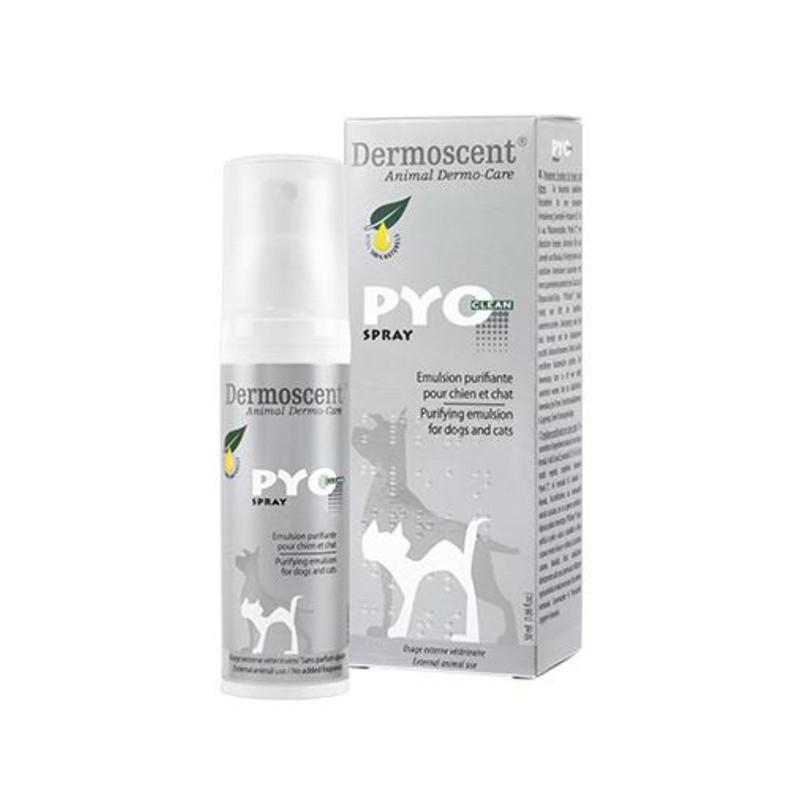Dermoscent (Дермосент)  PYOclean Spray Спрей для проблемной кожи для собак и кошек