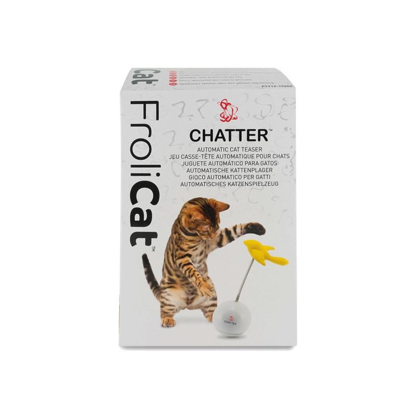 PetSafe FroliCat Chatter ФРОЛИКЕТ ПТИЧКА интерактивная игрушка-неваляшка