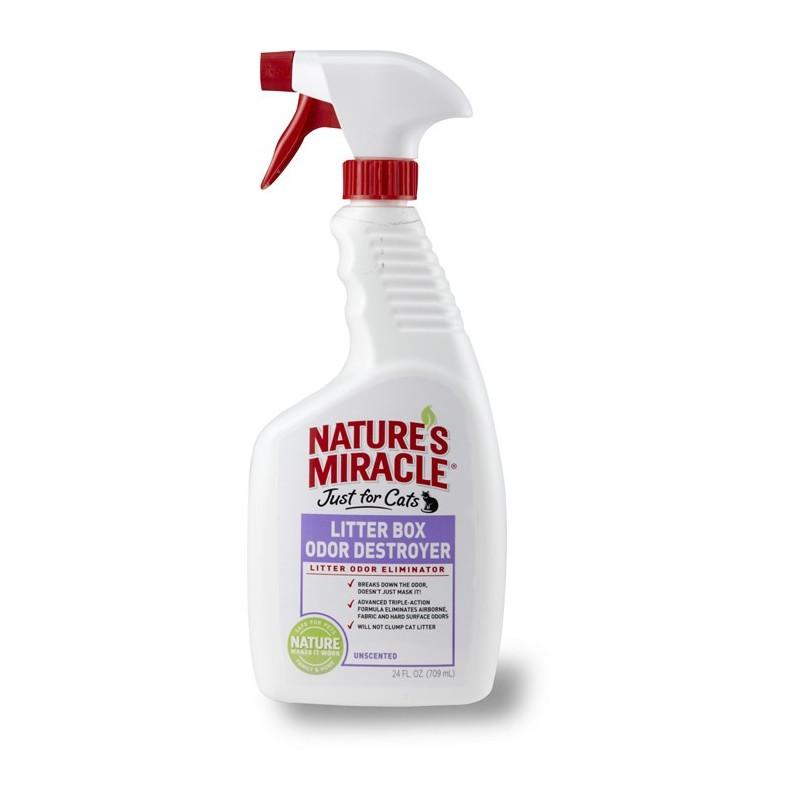 Nature's Miracle (Нейчерс Миракл) Litter Box Odor DESTROYER  Устранитель запаха для кошачьих туалетов
