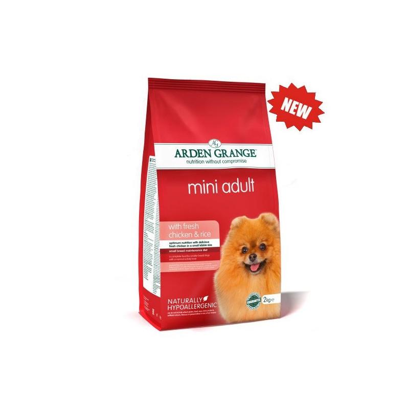 Arden Grange (Арден грендж) Mini Adult Dog Chicken & Rice Корм сухой для собак