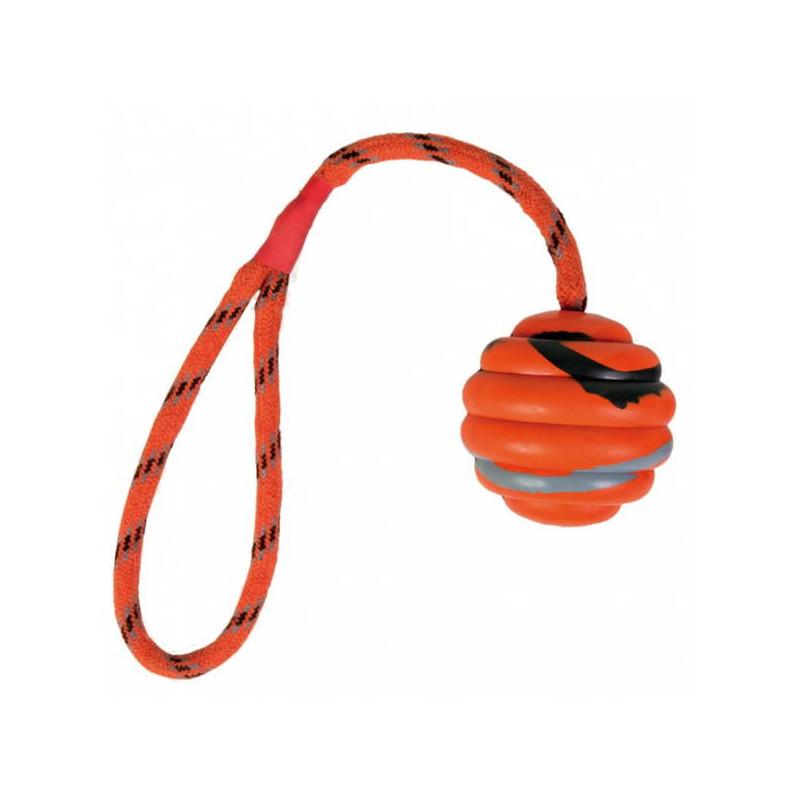 Trixie (Трикси) Мяч ребристый на веревке