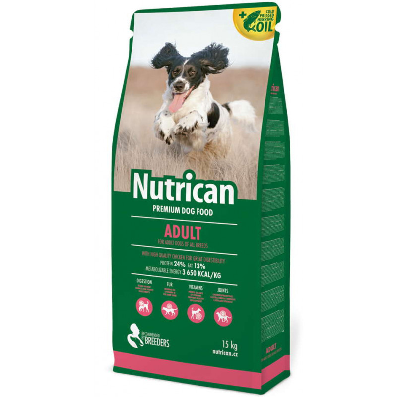 Nutrican (Нутрикан) ADULT - корм для взрослых собак всех пород