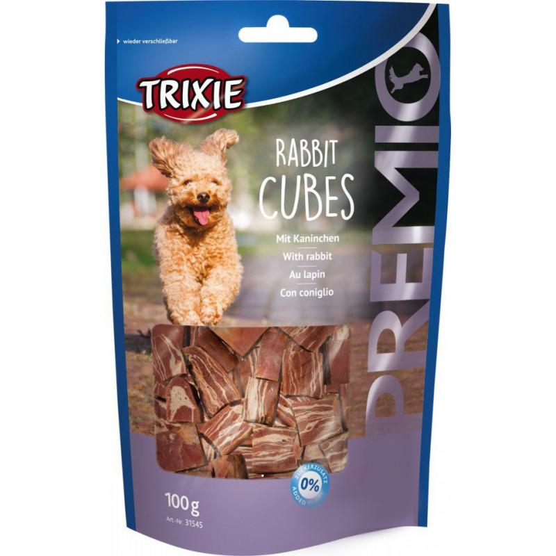 Лакомство TRIXIE PREMIO Rabbit Cubes для собак кубики с кроликом