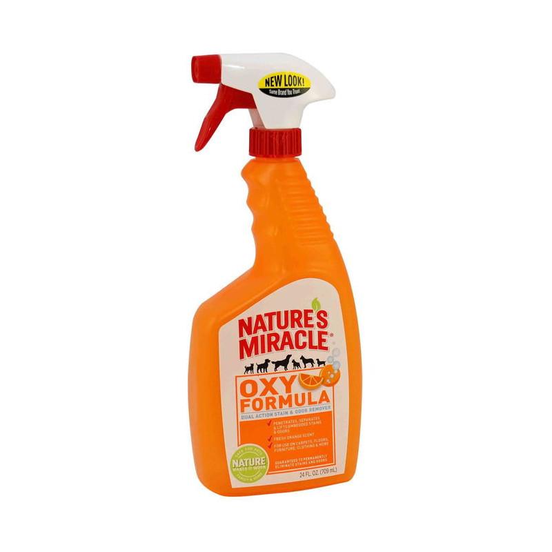 Nature's Miracle (Нейчерс Миракл) Уничтожитель пятен и запахов «Оранж-Окси»