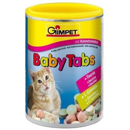 Gimcat (ДжимКэт) Baby Tabs - Витамины с фруктами, морскими водорослями, таурином и L-карнитином для котят - Фото 2