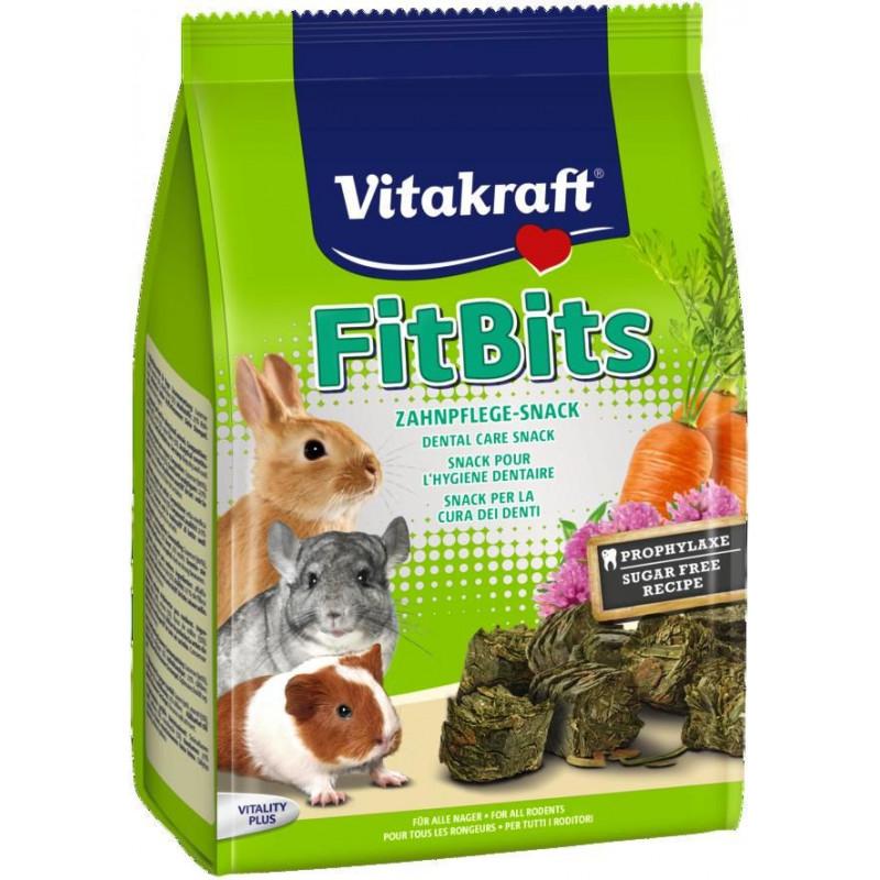 Лакомство-заточка для зубов VITACRAFT FIT BITS для всех видов грызунов