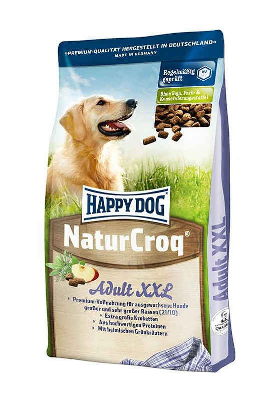 Happy Dog (Хеппи Дог) NaturCroq XXL - Сухой корм с домашней птицей для взрослых собак крупных пород - Фото 2