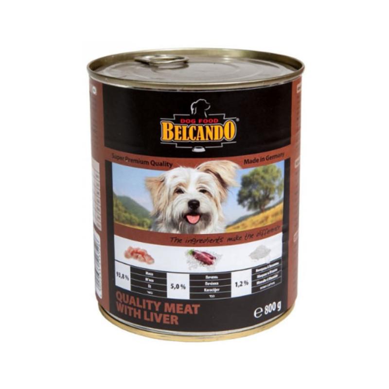 Консервы Belcando Отборное мясо с печенью