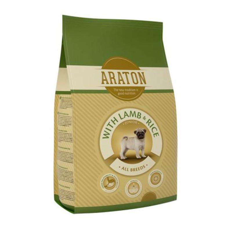 Araton (Аратон) Junior With Lamb & Rice - сухой корм для молодых собак всех пород с ягненком и рисом