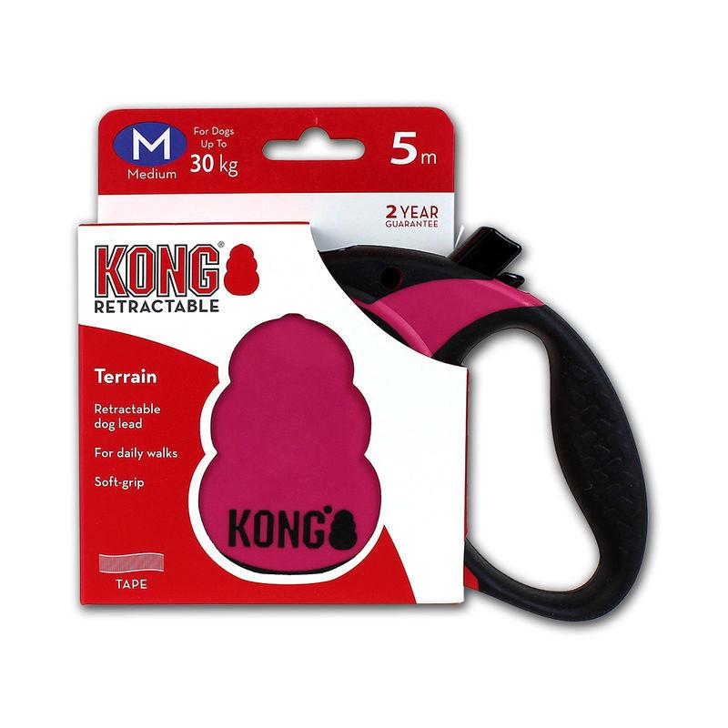 Рулетка KONG Terrain M для средних пород собак