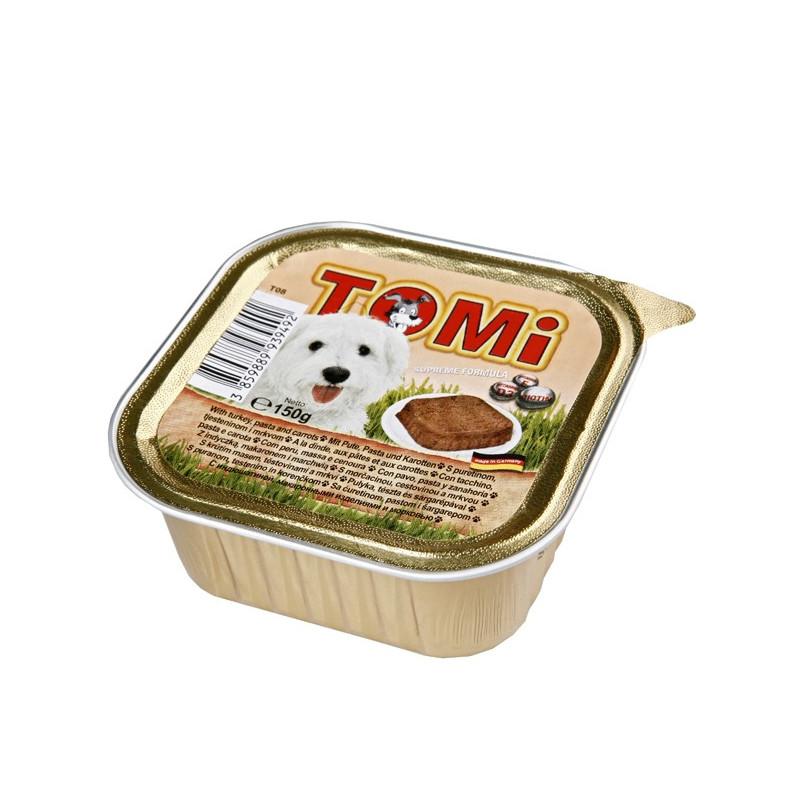 TOMi turkey, pasta, carrots паштет для собак