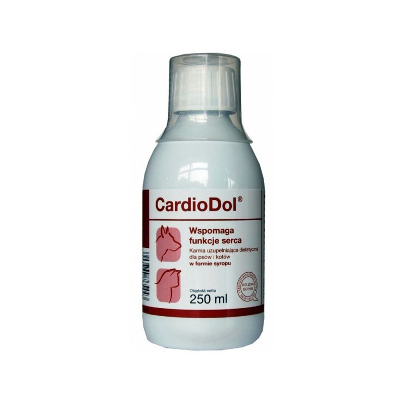 Dolfos (Дольфос) CardioDol - Сироп КардиоДол для поддержания работы сердца для собак и кошек