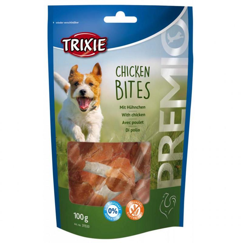 Лакомство TRIXIE PREMIO Chicken Bites для собак гантели для собак с курицей