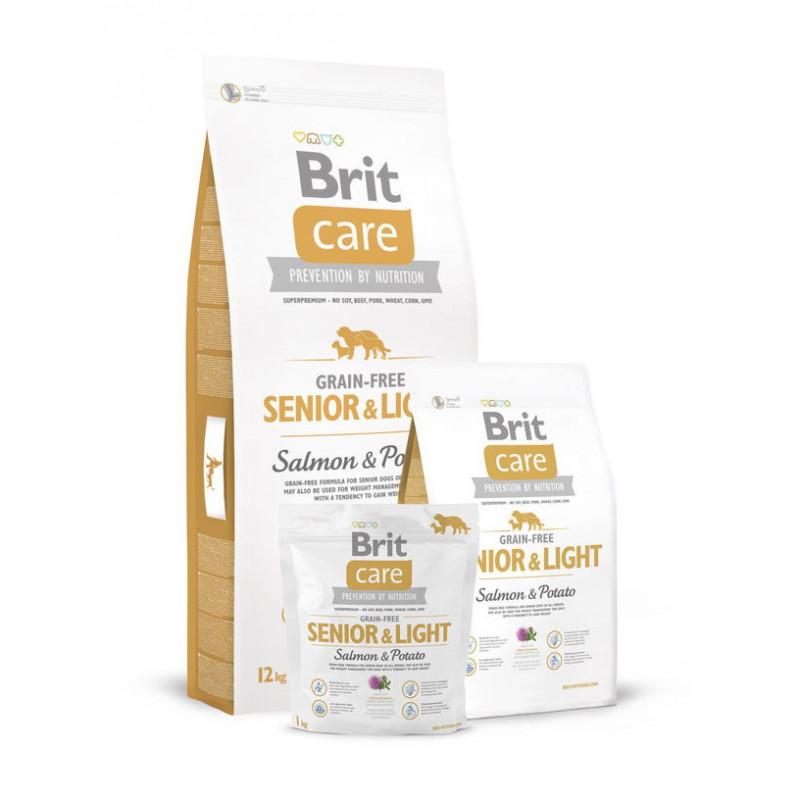 Brit Care (Брит Кеа) Grain-free SENIOR&LIGHT д/стареющих, склонных к ожирению собак