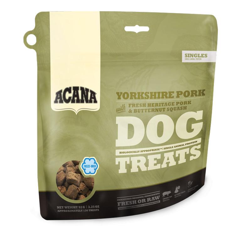 Acana YORKSHIRE PORK  (свинина и тыква) - лакомства для собак