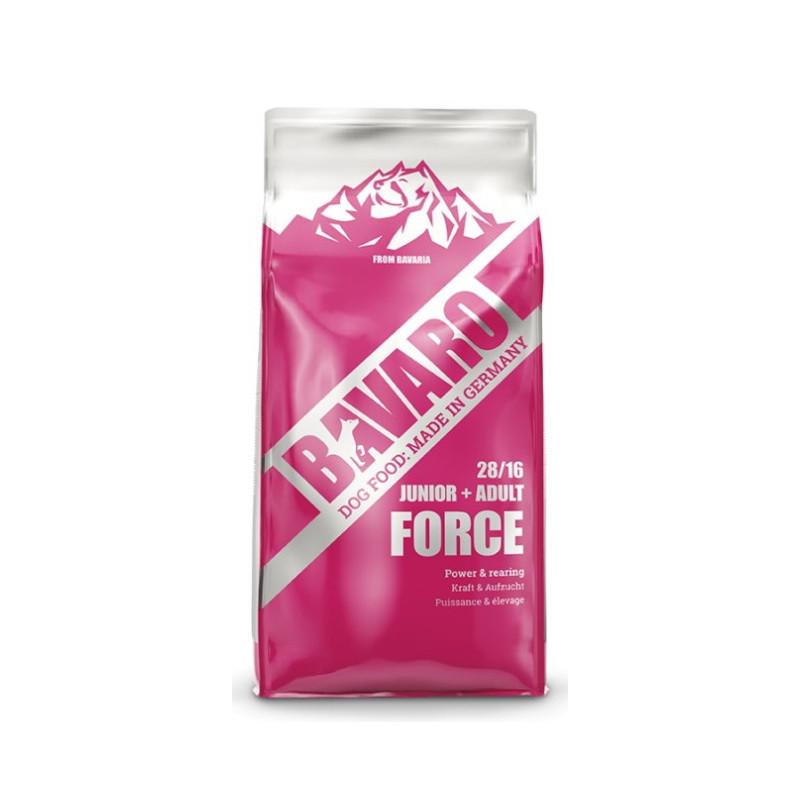 Bavaro (Баваро) Force 28/16  корм для щенков и собак с высокими физическими нагрузками