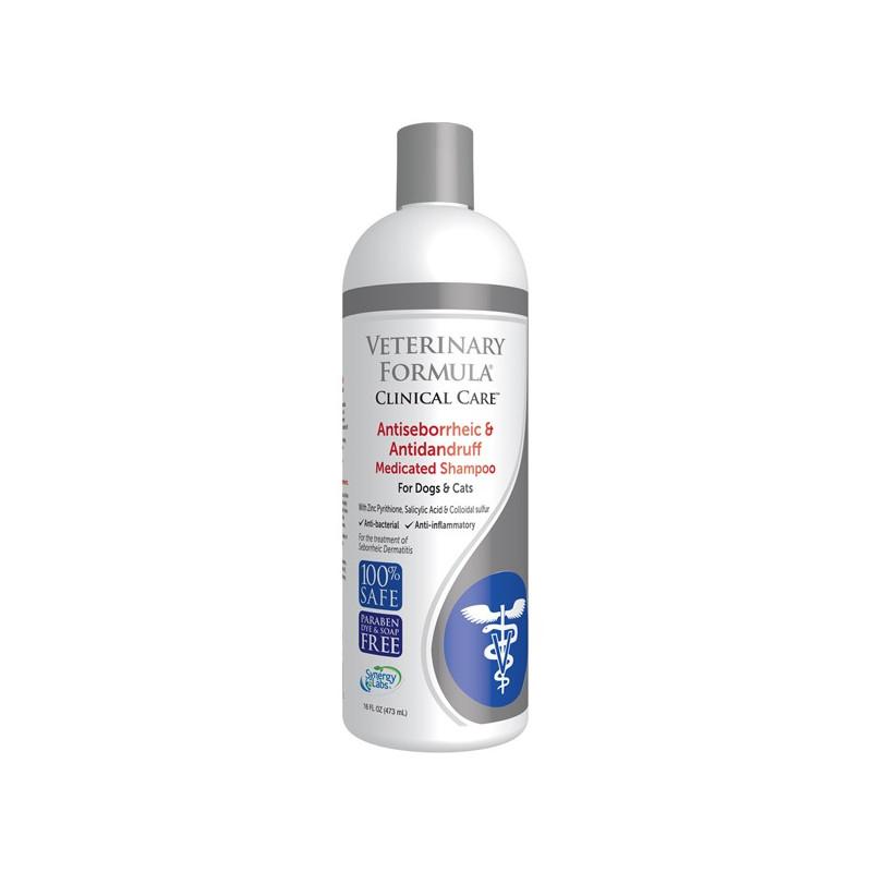 Veterinary Formula (Ветеринари Формулэ) ANTISEBORRHEIC & ANTIDANDRUF Shampoo - Шампунь антисеборейный для собак и кошек