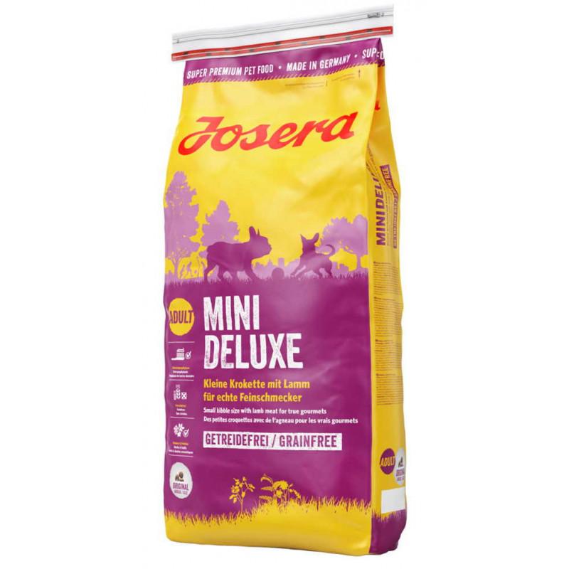 Josera (Йозера) Mini Deluxe Беззерновой корм для взрослых собак мелких пород