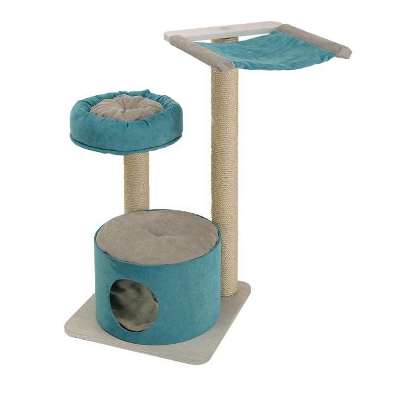 Ferplast (Ферпласт) Jago - Игровой комплекс для кошек с полочками спальным местом и колонами