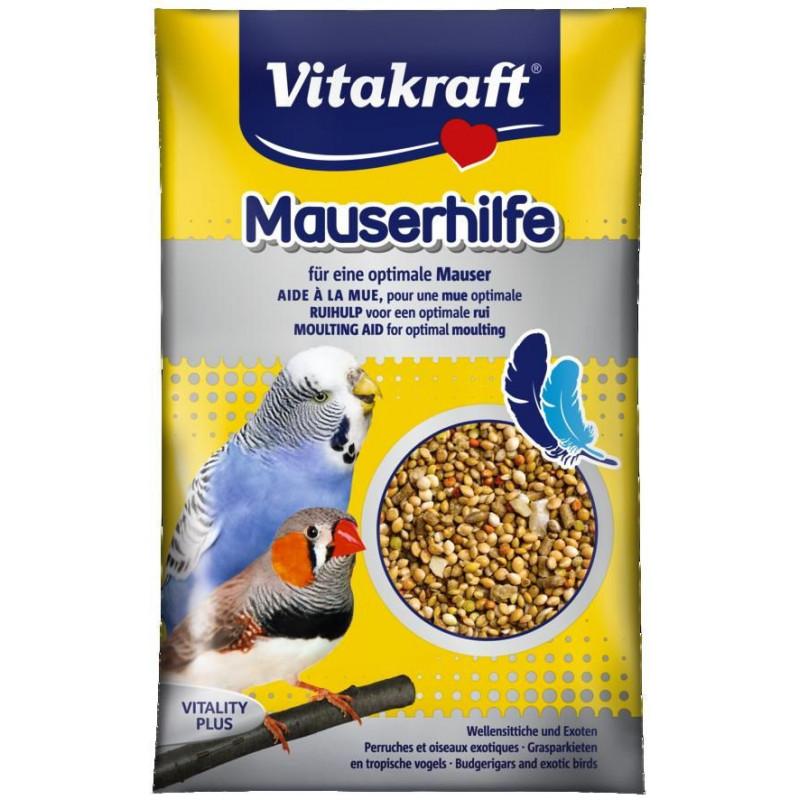 Витаминная добавка VITACRAFT MAUSERHILFE в период линьки для экзотических попугаев