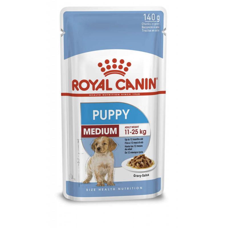 Royal Canin (Роял Канин) Medium Puppy - Влажный корм для щенков средних пород (кусочки в соусе)