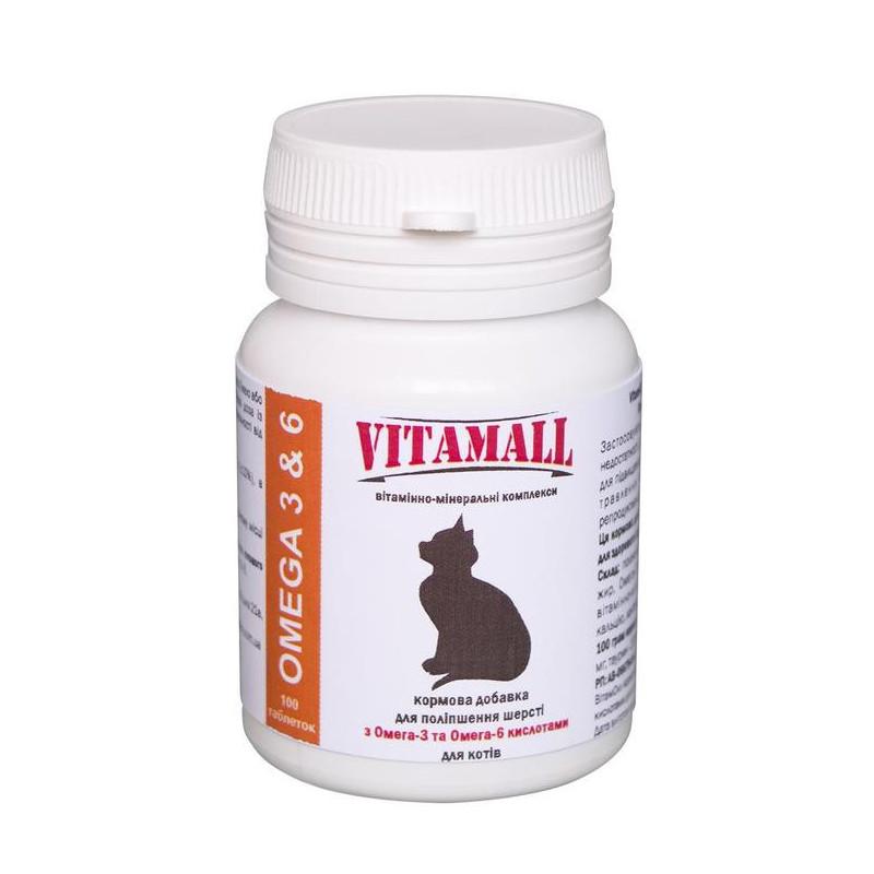 VitamAll (Витамол) Омега-3 & 6 для улучшения шерсти котов