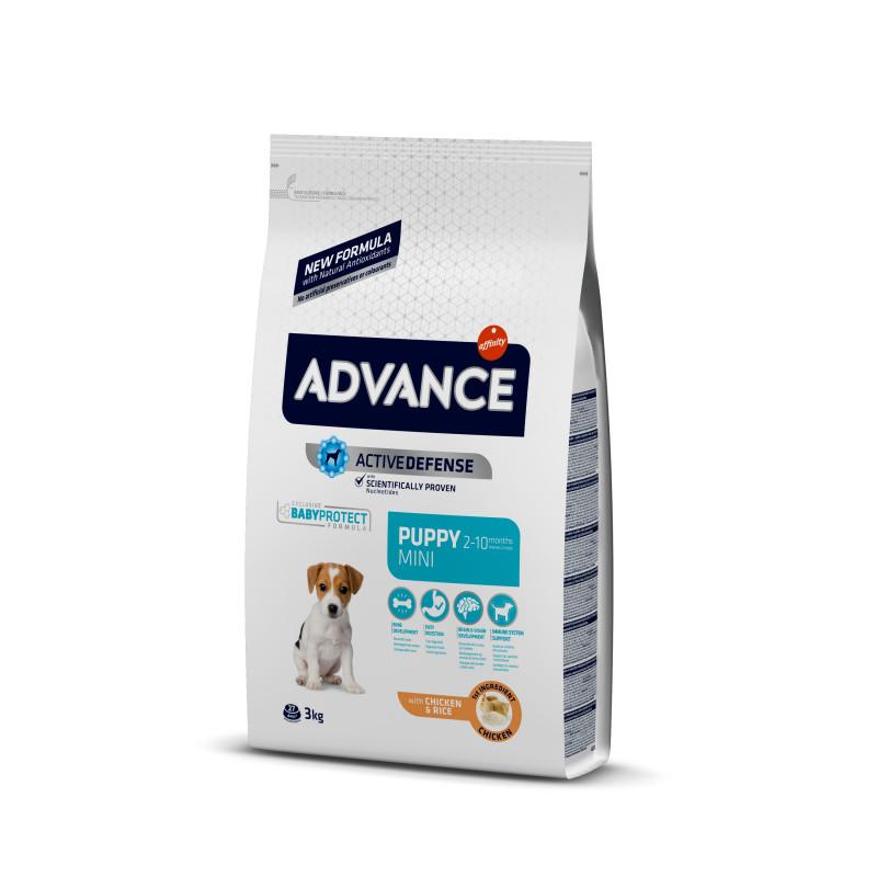 Advance (Эдванс) Dog Mini Puppy. Корм для щенков малых пород