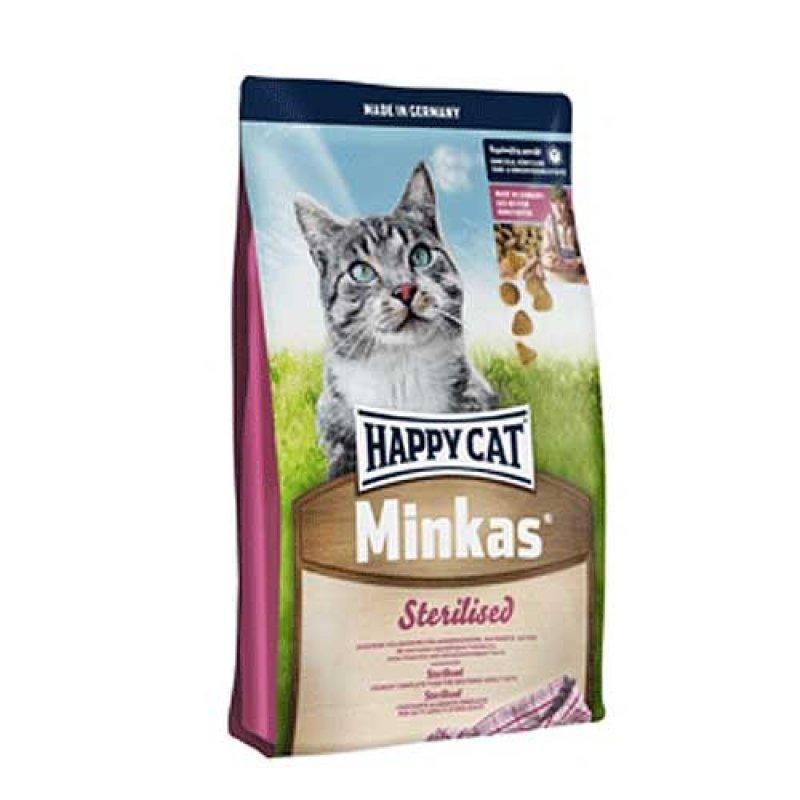 Happy Cat Minkas Sterilised - сбалансированный корм для стерилизованных котов