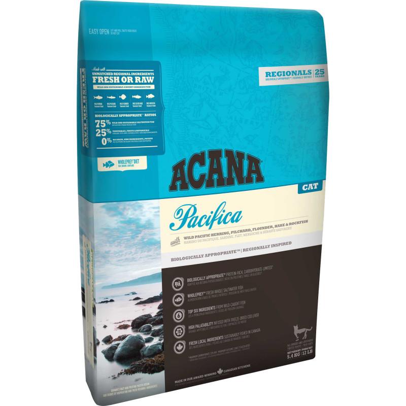 Acana (Акана) Pacifica for Cats - Сухой корм с тремя видами рыбы для котят и кошек