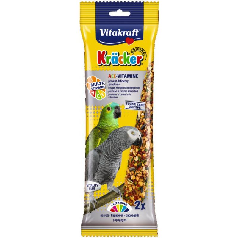 Крекер VITACRAFT мультивитаминый для попугаев
