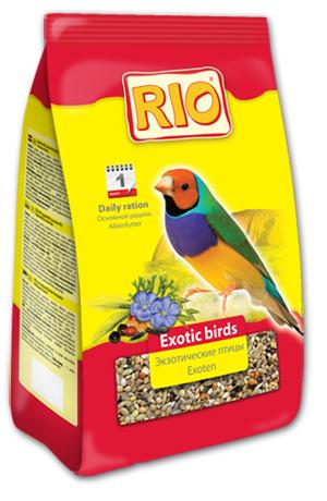 Корм RIO для экзотических птиц - основной рацион