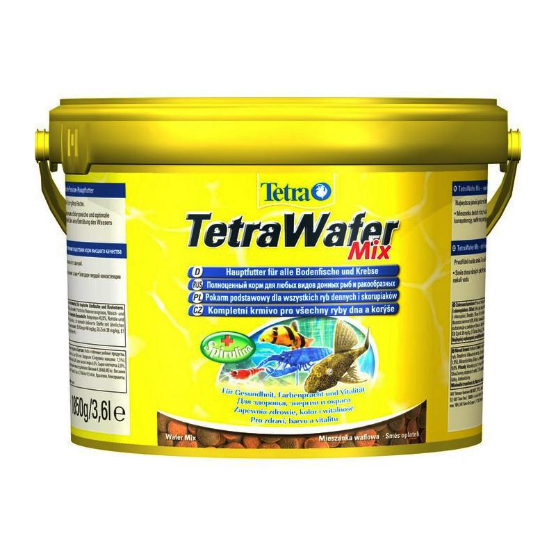 TETRA(Тетра) WAFER MIX - Корм для донных рыб и ракообразных в чипсах