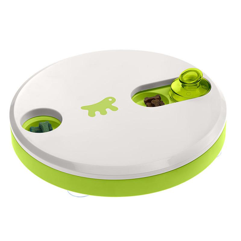 Интерактивная игрушка пластик Ferplast Duo для кошек с тайниками для лакомства