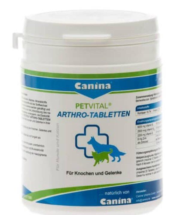 Canina (Канина) PETVITAL Arthro-Tabletten - Таблетки Петвитал Артро для кошек и собак - Фото 2