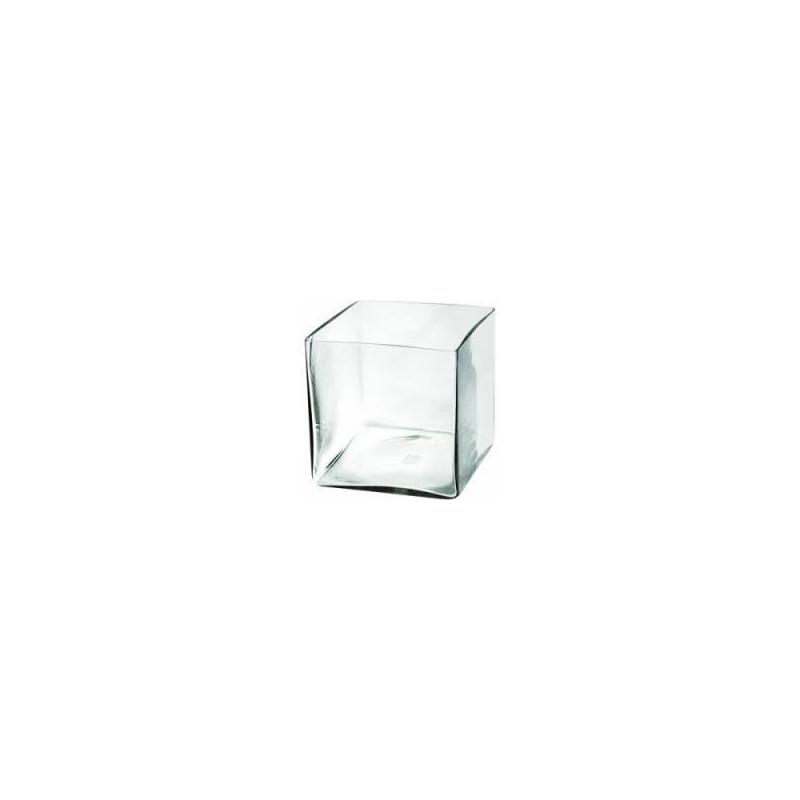 Безшовный аквариум AQUA EL DECORIS CUBE в форме куба